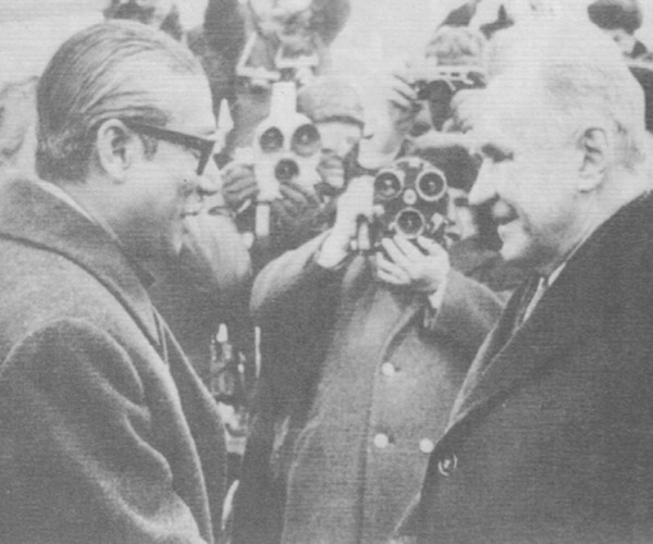 Pic 7.4 Bangabandhu and Soviet Prime Minster Alexei Kosygin, March 1972 (From Rebel to Founding Father) (2)