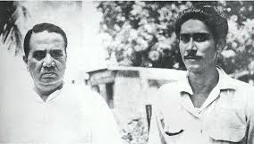 1948. Sheikh Mujib with Shaheed Hussain Surahwardy