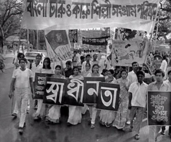 A-protest-march-demanding